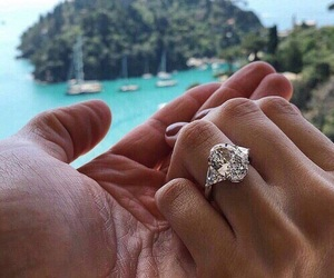 chic, fashion, and ring image