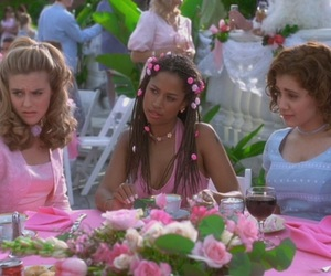 Clueless, pink, and 90s image
