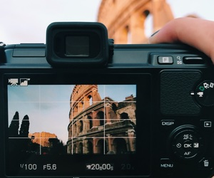 travelling, colosseum, and nikon image