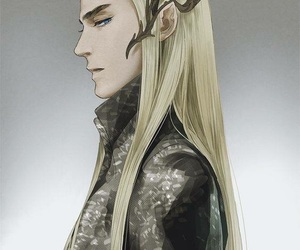 hobbit, thranduil, and elven king image