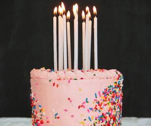 cake, birthday, and gif image