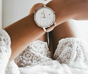 fashion, clock, and style image