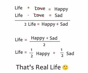 happy, real+life, and life image