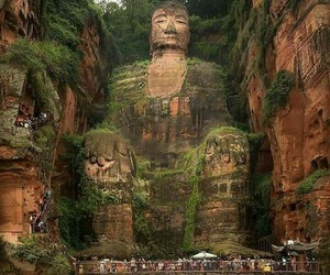 Buddha, earth, and travel image