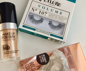 makeupforever, eylure, and realtechniques image