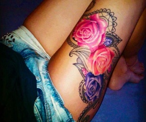 art, tattoo, and resim image