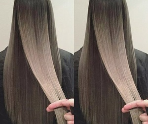hair, beauty, and long hair image