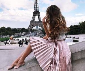 paris, travel, and hair image