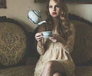 alice in the wonderland, girl, and magic image