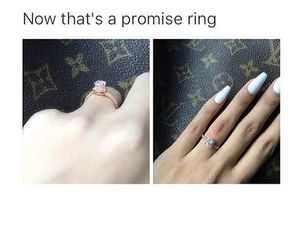 long nails, LV, and nails image