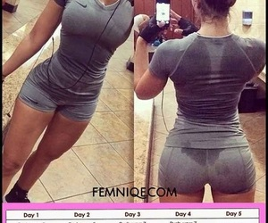 fitness, workout, and 30 days challenge image
