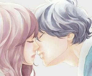 kou, au haru ride, and manga couple image