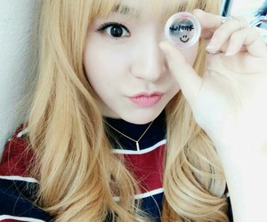 blonde, lee yuna, and fashion image
