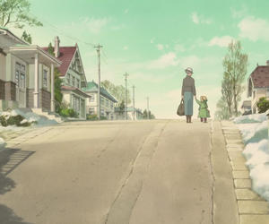 studio ghibli, when marnie was there, and anna image