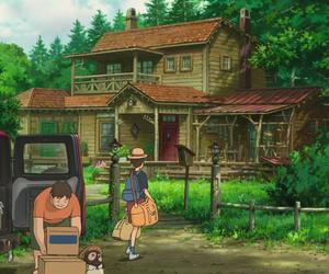 Hayao Miyazaki, house, and studio ghibli image