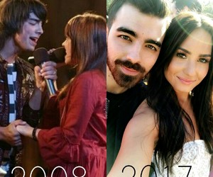 camp rock, dean, and demi image