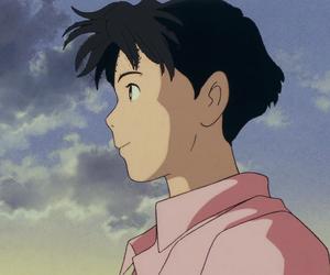 boy, Hayao Miyazaki, and pastel image