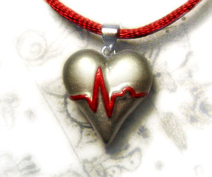 artisan, survival, and heart pendant image