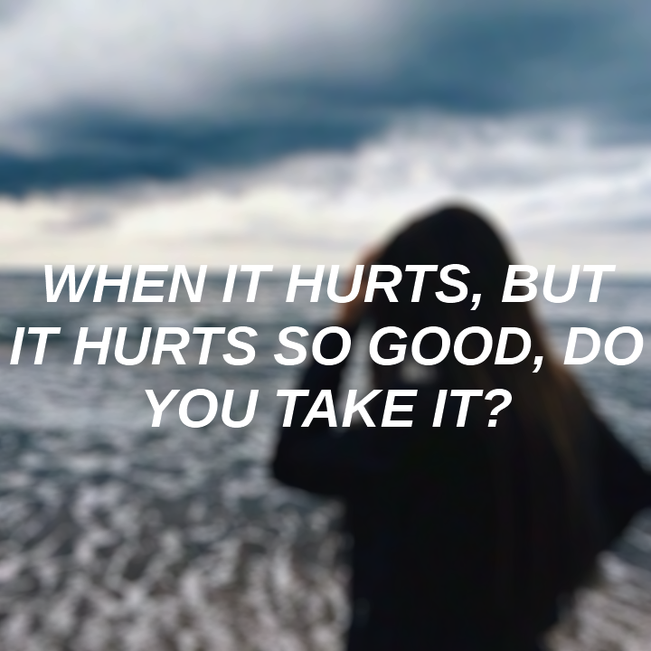 music, aesthetic, and hurts image