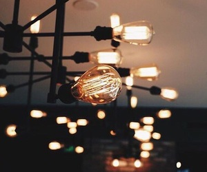 lights, beautiful, and dark image