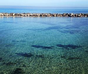 blue, sea, and sicily image