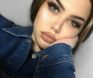 green eyes, eyes eyebrows brows, and woman women boys image