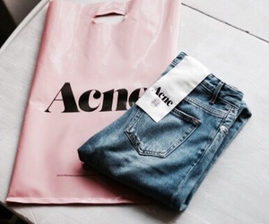 fashion, acne, and jeans image