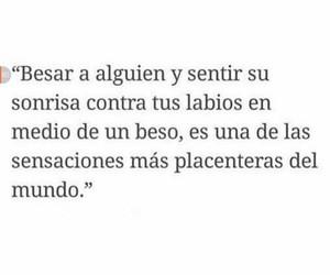 amor, Besos, and frases en español image