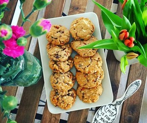 healthy+food, chocolate+chips, and food+yummy+delicious image