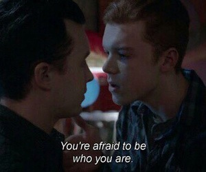 shameless us, ian gallagher, and micky milkovich image