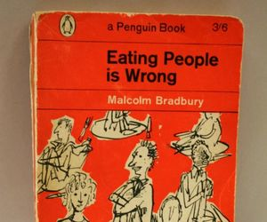 book, eating, and people image