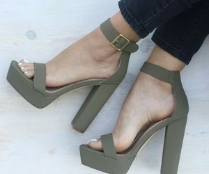 shoes, fashion, and green image