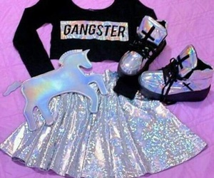 unicorn, style, and clothes image