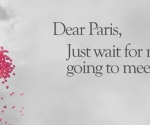 paris, love, and quote image