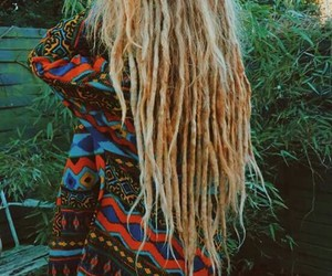 dreadlocks, dreads, and ginger image