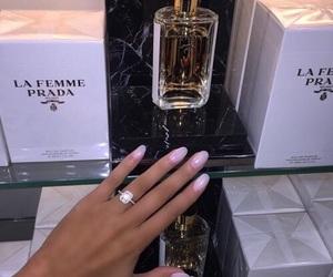 Prada, luxury, and nails image