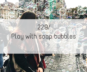 art, boy, and bubble image