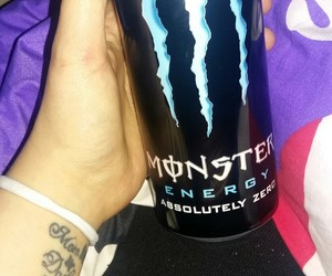 monster tattoo nails love image