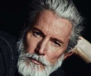 old, gentleman, and grey image