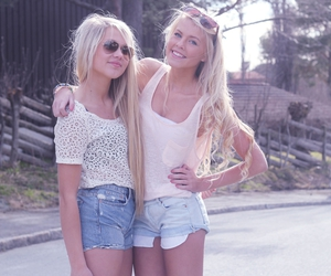 friends, summer, and blonde image