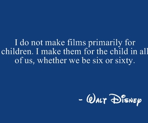 quote, disney, and walt disney image