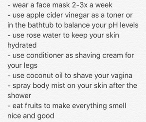 self confidence, self care, and hoe tips image