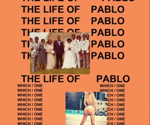 kanye west, album, and the life of pablo image