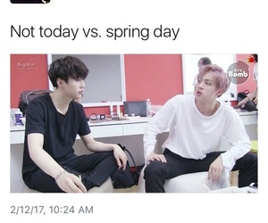 kpop, not today, and bts image