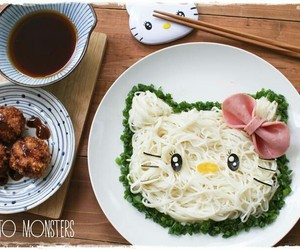 food, heart, and japanese image