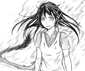 anime, yato, and iki hiyori image