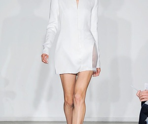 dress, Gareth Pugh, and jacket image