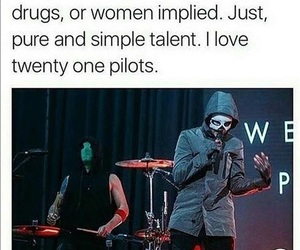 twenty one pilots, band, and music image
