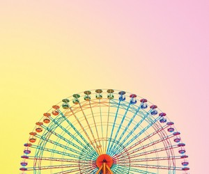 colorful and ferris wheel image