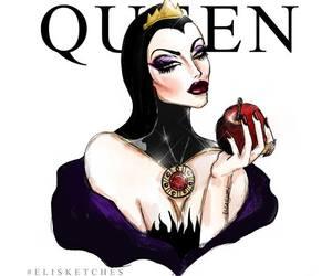 snow white, art, and disney image